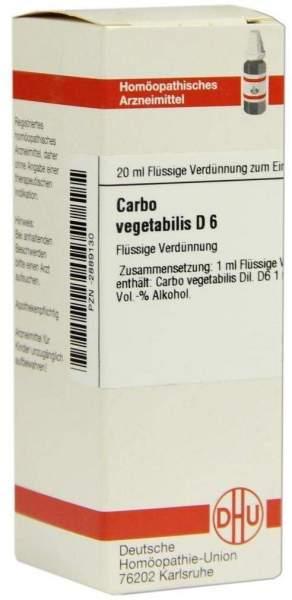 Carbo Vegetabilis D6 20 ml Dilution