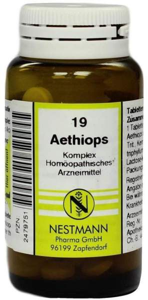 Aethiops Komplex Tabletten Nr. 19 120 Stück