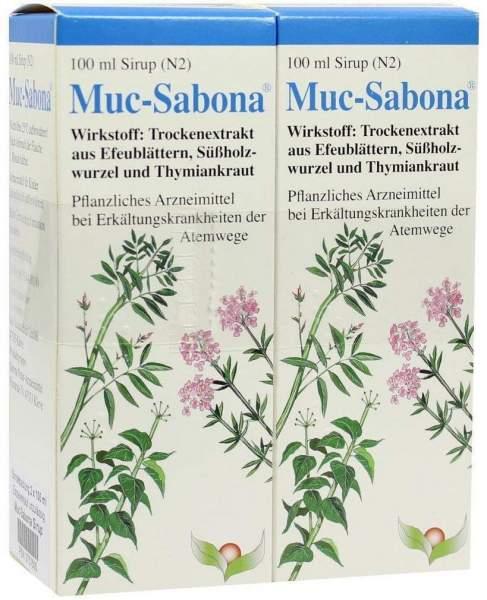 Muc Sabona 2 X 100 ml