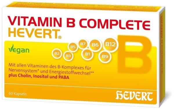 Vitamin B Complete Hevert 60 Kapseln