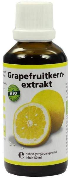 Grapefruit Kern Extrakt Bio 50 ml Lösung