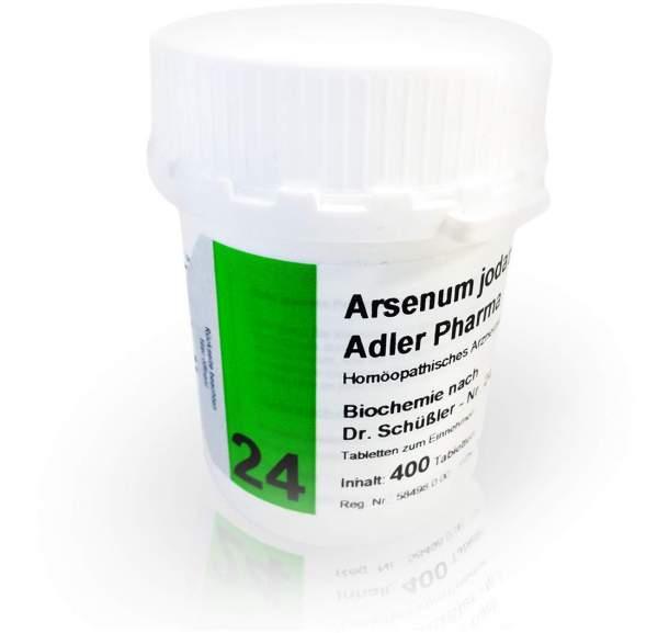 Biochemie Adler 24 Arsenum Jodatum D 12 400 Tabletten