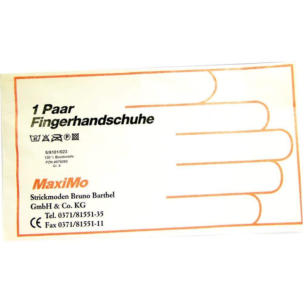 Strickmoden Bruno Barthel GmbH Handschuhe Baumwolle Gr. 4 Kinder - 2 Handschuhe