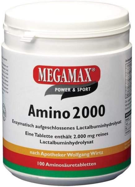 Megamax Amino 2000 100 Tabletten