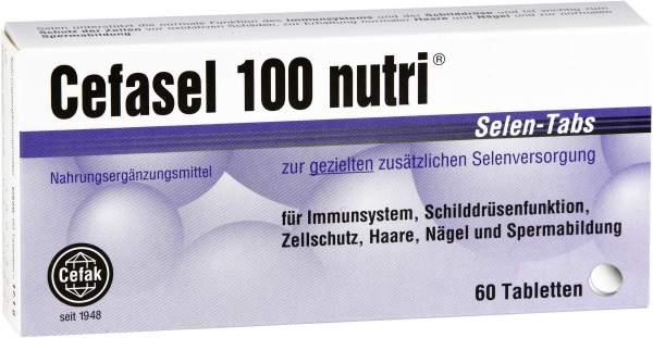 Cefasel 100 Nutri Selen Tabs 60 Tabletten