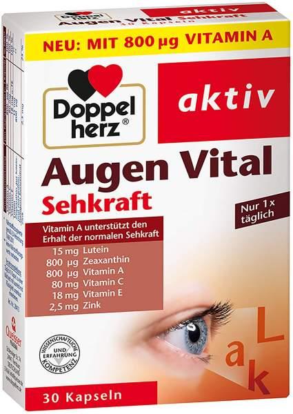 Doppelherz Augen Vital Sehkraft 30 Kapseln