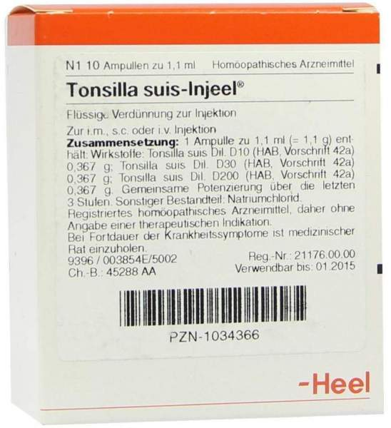 Tonsilla Suis Injeele
