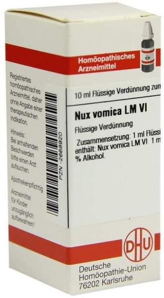 Lm Nux Vomica Vi