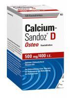 Calcium Sandoz D Osteo Kautabletten