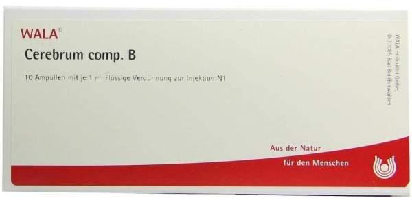 Cerebrum Comp. B Ampullen 10 X 1 ml