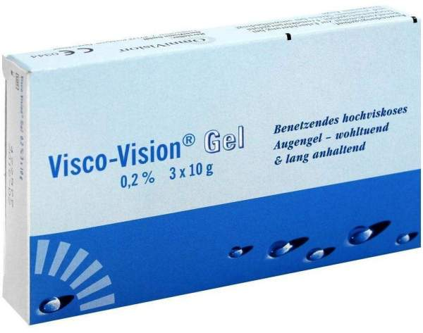 Visco Vision Gel 3 x 10 g
