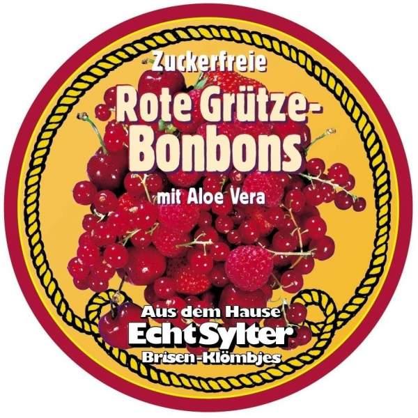 Echt Sylter Rote Grütze Bonbons mit Aloe Vera zuckerfrei 70 g Bonbons