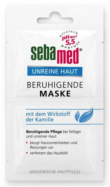 SEBAMED Unreine Haut beruhigende Maske 2 x 5 ml