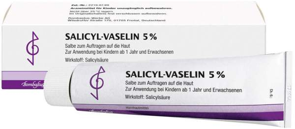 Salicyl Vaselin 5% 100 ml Salbe