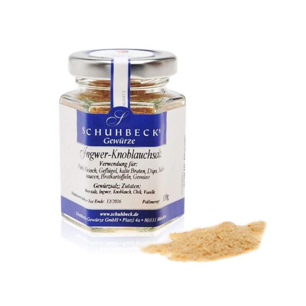 Schuhbecks Ingwer - Knoblauch 110 g Salz