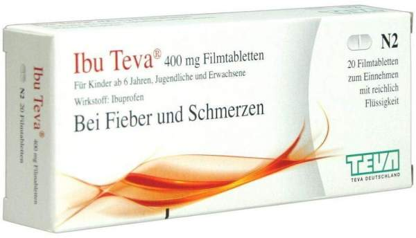 Ibu Teva 400 mg Filmtabletten