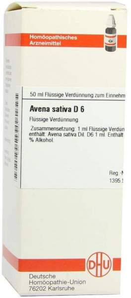 Avena Sativa D6 Dilution 50 ml Dilution