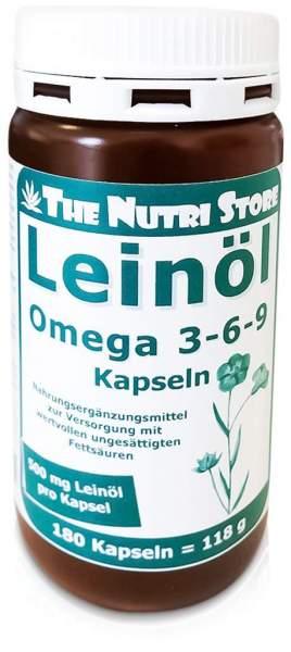 Omega 3 6 9 500 mg Bio Kapseln