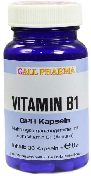 Vitamin B1 Gph 1,4mg Kapseln 30 Kapseln