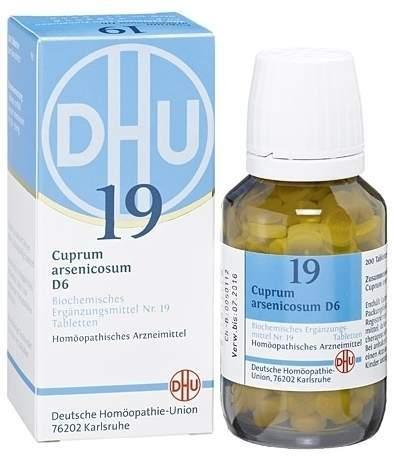 Biochemie DHU 19 Cuprum arsenicosum D6 80 Tabletten