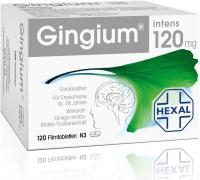 Vorschau: Gingium intens 120 mg 120 Filmtabletten