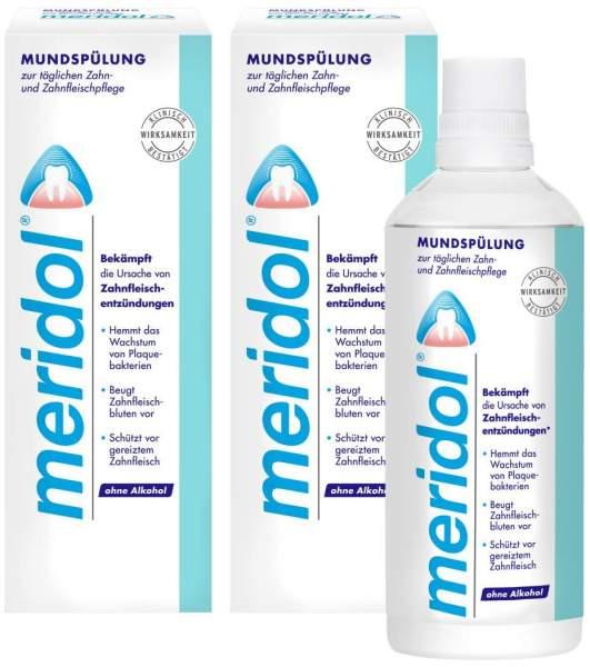 Meridol Mundspüllösung 2 x 400 ml