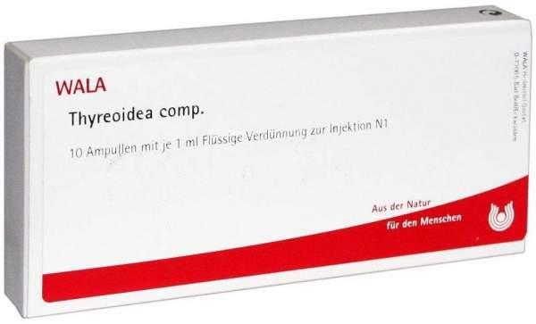 Thyreoidea Comp. Ampullen 10 X 1 ml