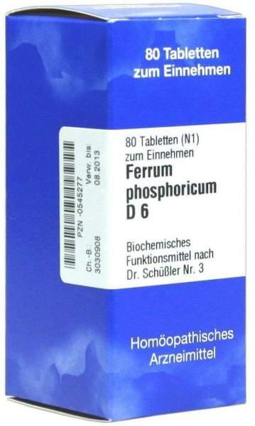 Biochemie Iso 3 Ferrum Phosphoricum D6 80 Tabletten