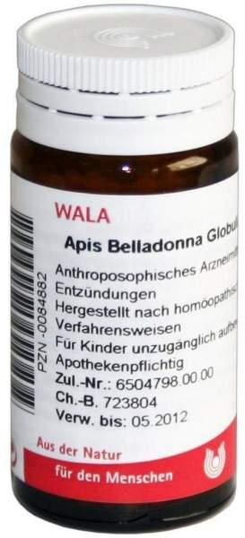 Apis Belladonna Globuli Velati 20 G Globuli