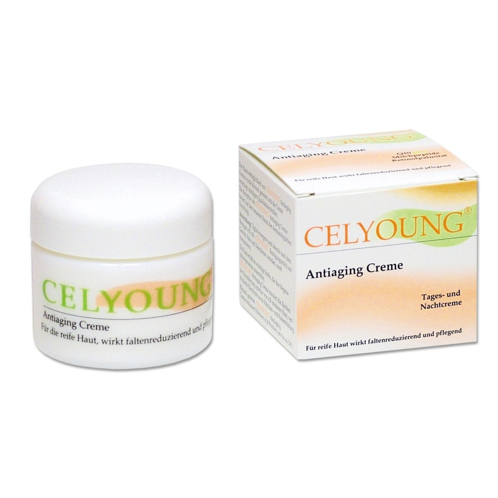 celyoung anti aging creme 50 ml von krepha gmbh co kg. Black Bedroom Furniture Sets. Home Design Ideas