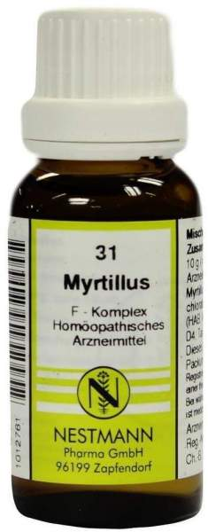 Myrtillus F Komplex 31 20 ml Dilution