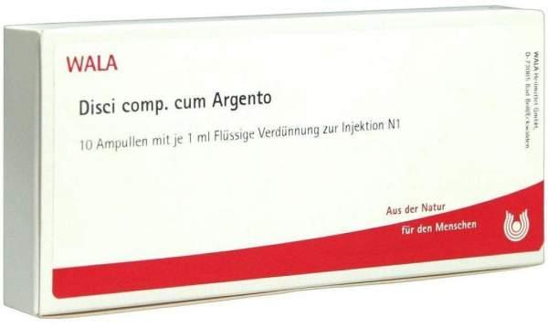 Disci Comp. C. Argento Ampullen 10 X 1 ml