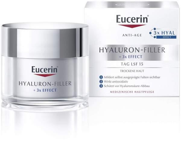 Eucerin Anti Age Hyaluron Filler Tag trockene Haut 50 ml