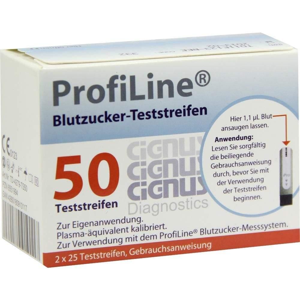 Profiline Teststreifen Cignus