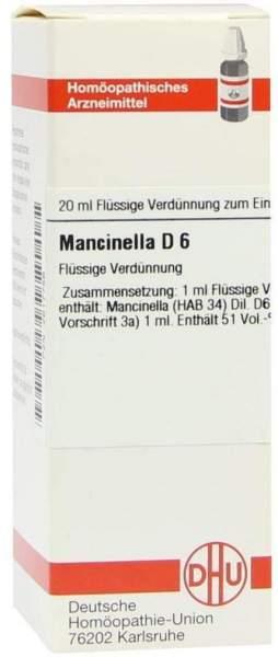 Mancinella D 6 Dilution