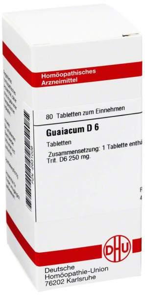 Guaiacum D 6 Tabletten
