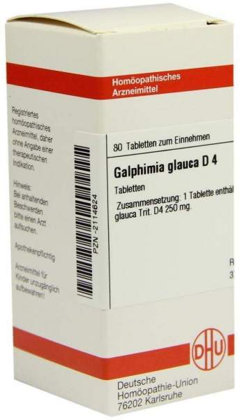 Galphimia Glauca D4 80 Tabletten