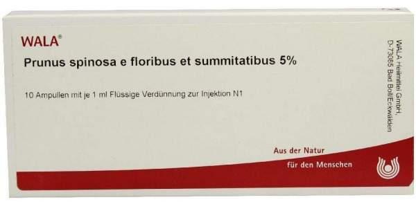 Prunus Spinosa E Fl. Et Su. 5% Ampullen