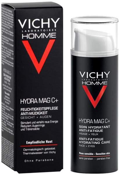 Vichy Homme Hydra Mag C+ 50 ml Feuchtigkeitspflege Anti-Müdigkeit