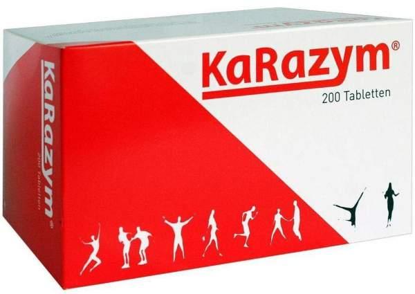 Karazym 200 Magensaftresistente Tabletten