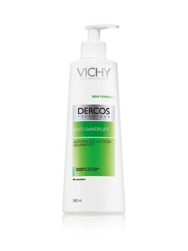 vichy dercos anti schuppen shampoo f r fettige kopfhaut. Black Bedroom Furniture Sets. Home Design Ideas