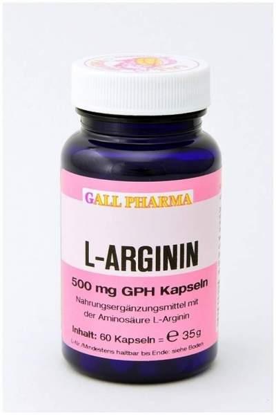 L-Arginin 500 mg Gph 60 Kapseln