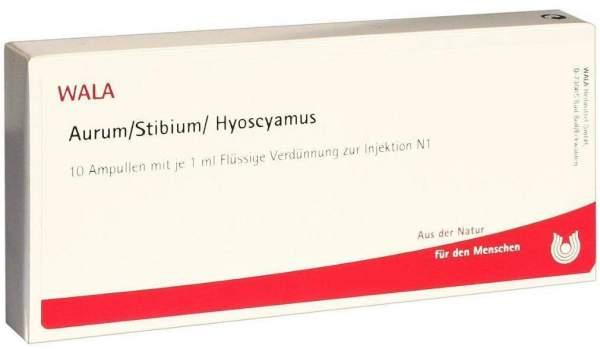 Aurum- Stibium- Hyoscyamus Ampullen 10 X 1 ml