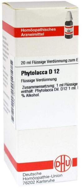 Phytolacca D12 Dilution 20 ml Dilution