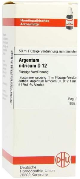 Argentum Nitricum D12 50 ml Dilution