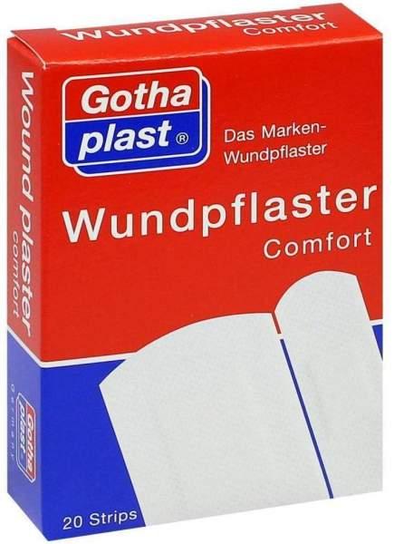 Gothaplast Wundpflaster Comfort 2 Größen 20 Pflaster
