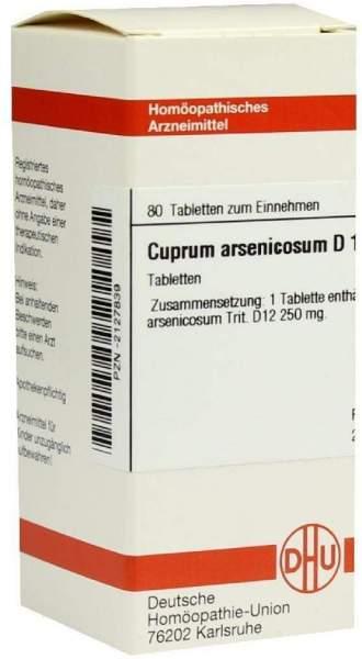 Cuprum Arsenicosum D12 80 Tabletten