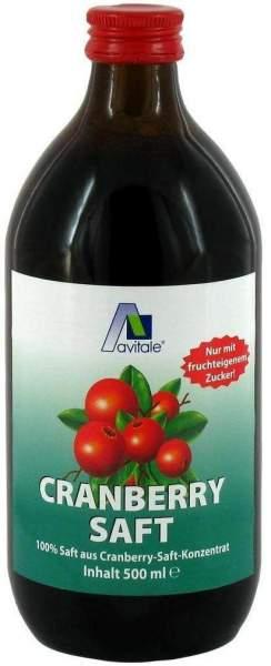 Cranberry-Saft 100% Frucht 500 ml